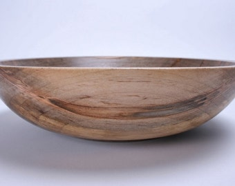 Spalted Ambrosia Maple Wooden Bowl 1296