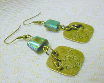 Abalone Dreaming of the Sea Earrings