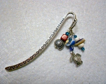 Sea Turtle Bookmark, Marine Life Bookmark