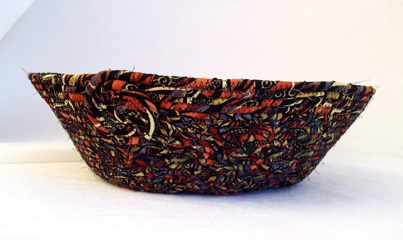 Handmade Copper Basket : Sale copper fabric basket handmadel decorative