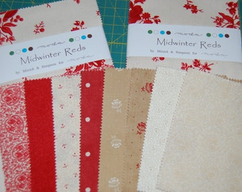 Custom Made Midwinter Reds Signature Quilt, Wedding, Baby Shower, Hand Quilted