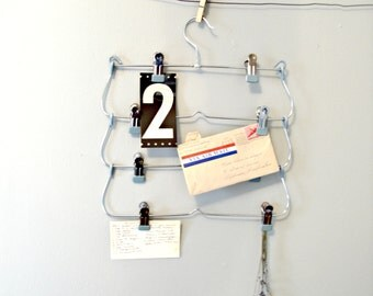 Vintage Metal Hanger | Multi-tiered Pants Hanger