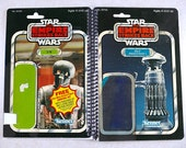 FX-7 and 2-1B Medical Droids Recycled Vintage Star Wars ESB Notebook