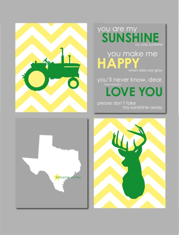 Items Similar To Farm Nursery Art Boy Room Decor Tractor