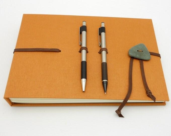 Hardcover Sketch Book - Art Journal - Spiced Orange