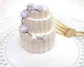 Wedding Cake Favor Box, Receptions, Bridesmaids Gifts, Bridal Shower, Eco Friendly Gift Wrap