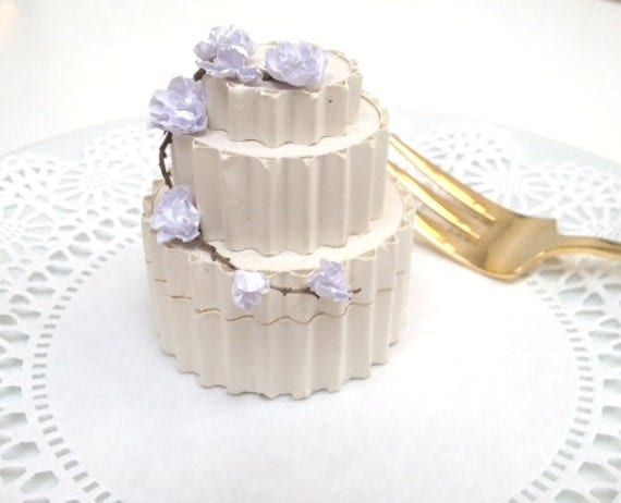 Wedding Cake Favor Box, Receptions, Bridesmaids Gifts, Bridal Shower, Eco Friendly Gift Wrap, Specialty box 123 cc tenx tt Steam jgt ocean