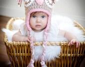 Owl, Owlette Crochet Hat, Baby Owl Hat, Sleeping Owl Baby Hat