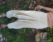 SALE ~ Thin Raw silk Afghani pants ~ Unisex ~