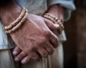 Tulsi Beads Double Braclet