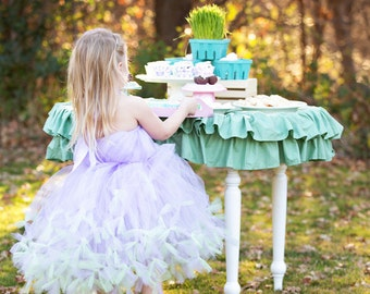 Lavender Tutu Dress by Atutudes - girl's 1st birthday party dress