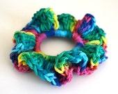 Rainbow  Scurunchie