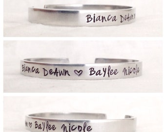 Hand Stamped Gotcha Day Adoption Foster Parent Mommy Jewelry