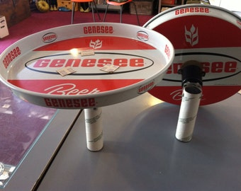 1960s Genesee Beer Tray Displays