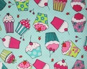 Special Order for Stephanie / Cupcake Partytime Surgical Scrub Top / X Small - XX Large