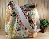 Crossbody bag Diaper Bag Messenger Bag - Bibi Fiesta - Shoulder Bag School Teacher Bag Travel bag Canvas Weekender Bag LILIA VANINI BAGS