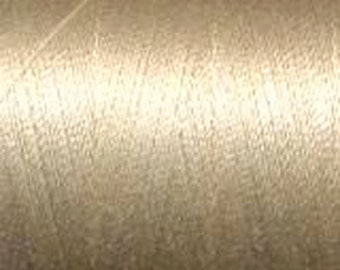 Aurifil Thread  50 wt. cotton Mako thread- Light Sand 1422 yard spool MK50 2000