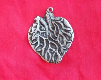 Tin/Silver Heart with Veins Milagro Ex Voto