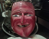 Smiling Man Demon Mask