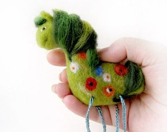 Forest horse - brooch