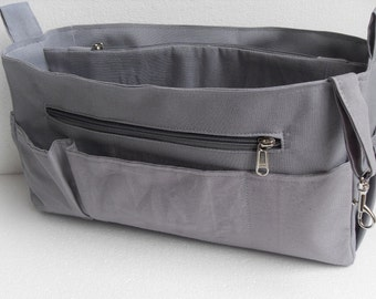 Extra Large Purse organizer for Louis Vuitton Neverfull GM - Bag organizer insert in Gray