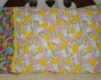 Easter  Pillowcase yellow