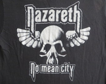 NAZARETH 1981 tour T SHIRT