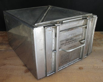 Curtiss SB2C Helldiver - WWII Airplane 20mm Ammunition Box