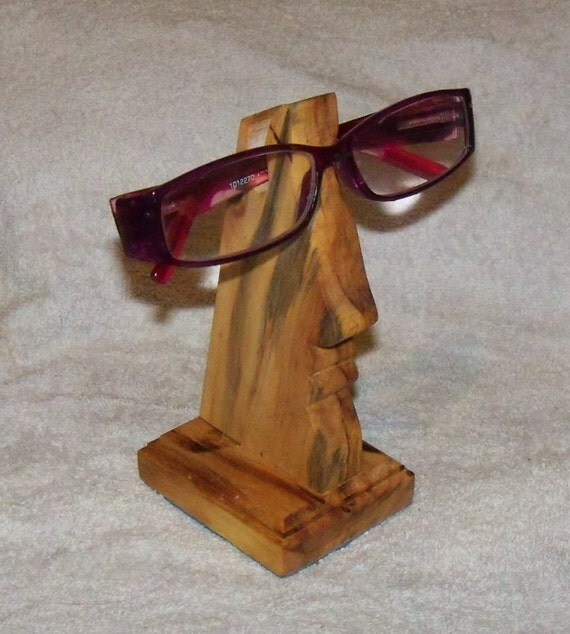 eyeglass holder or sunglasses stand by