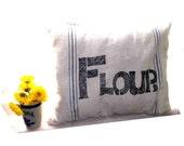 Flour Sack flour pillow