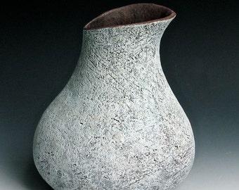 Ice Blue Vase