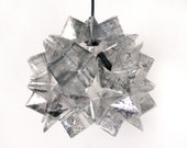 Brentmore Pendant Light - Transparent Origami Hanging Lamp Shade