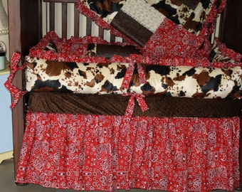 Round Up crib bedding