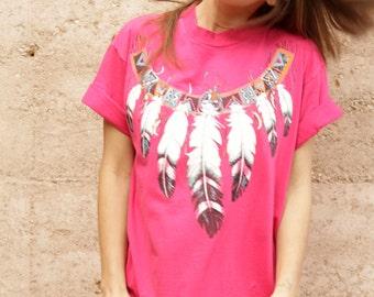 SOUTHWEST dreamcatcher shirt vintage 80s 90s ARIZONA t-shirt