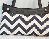 One thirty one customed fitted purse skirt in chevron ( pick your color)