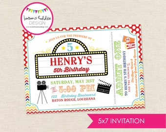 DIY, Movie Party INVITATION ONLY