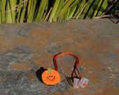 Pumpkin - Hearing Aid Cord or Cochlear Implant Cord