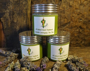 Lavender Lemongrass & Tea Tree Hydrating Hand Treatment -  Super Rich / Vegan Friendly - Flat Rate Shipping Now Available!