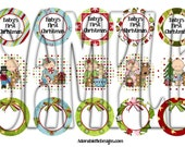 Multipack Baby's First Christmas Bottle Cap Images
