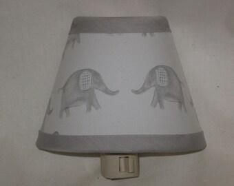 Taylor Elephant Nursery Night Light