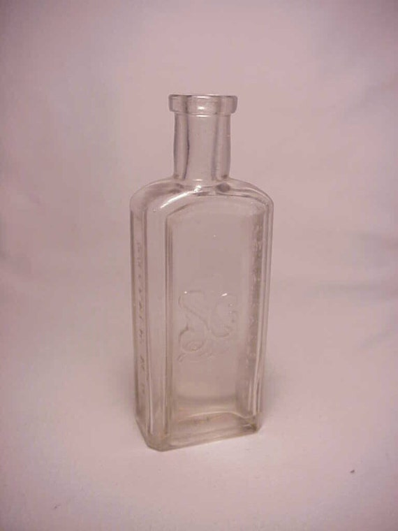C1890s Larkin Soap Co Buffalo Ny Cork Top Blown Clear Glass