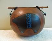 Gourd Bowl - Bear Gourd Bowl