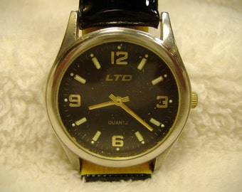 Vintage 1980s paul jardin mens quartz watch by for Paul jardin quartz watch