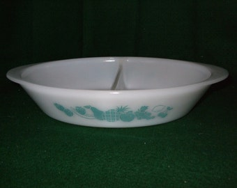 Glasbake Divided Casserole Dish #J-2352