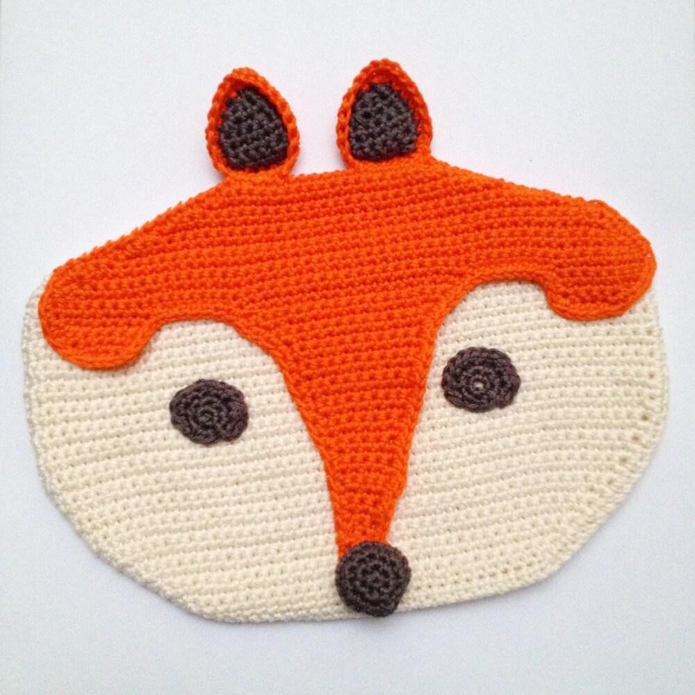 Crochet Fox Pencil Case
