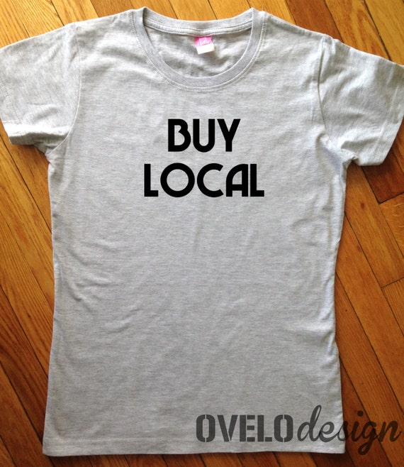 Buy Local Women's cut T-shirt