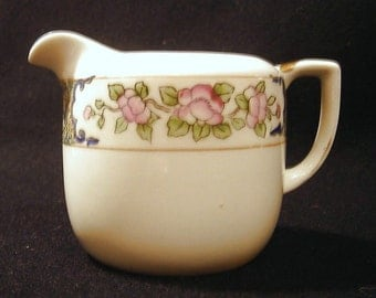 Antique Noritake Collectible Creamer Small Pitcher Morimura Japan 1920s