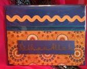 CLEARANCE Subhanallah Arabic Calligraphy Card Blank