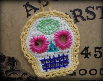 Crochet Day of the Dead Ornament