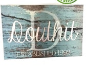 LAST NAME SIGNS-Personalized family name signs make great housewarming gifts and custom home decor